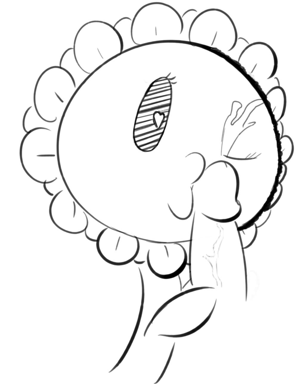 2 plants moonflower zombies vs Go go nippon