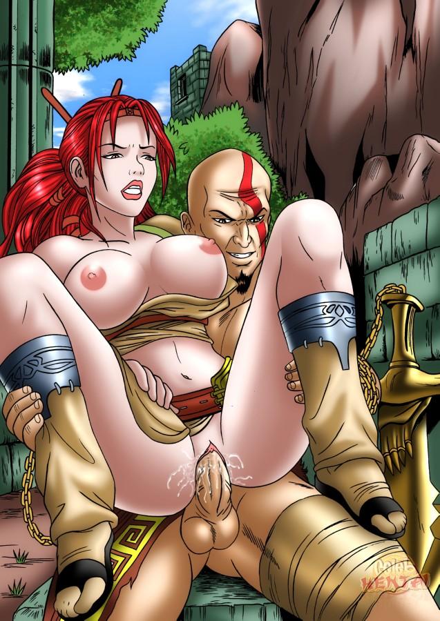 poseidon's god war of wife Sayori doki doki literature club