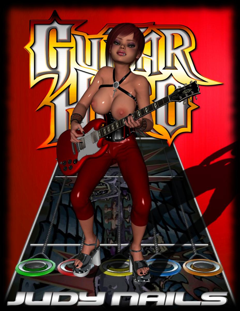 guitar 3 hero judy nails Five nights at anime boobs