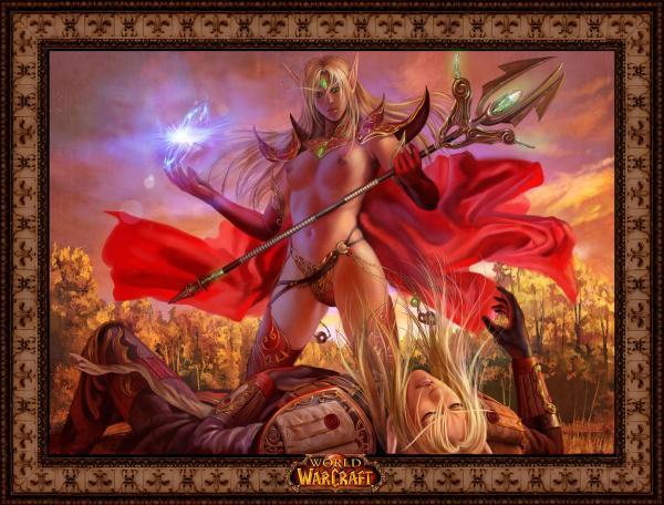 warcraft hentai world elf of blood Yu-gi-oh dark magician girl