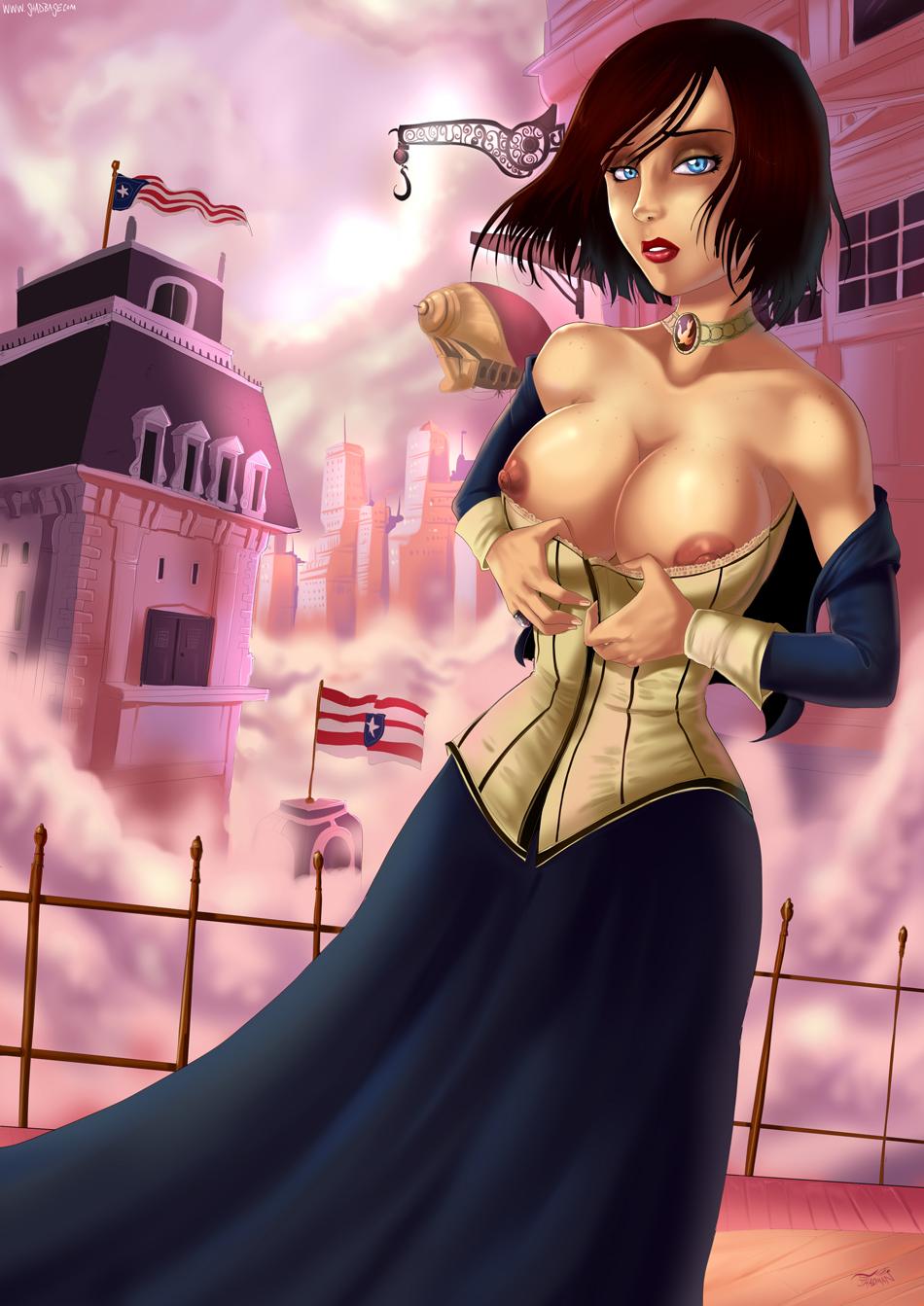 elizabeth bioshock infinite Miss-kobayashis-dragon-maid