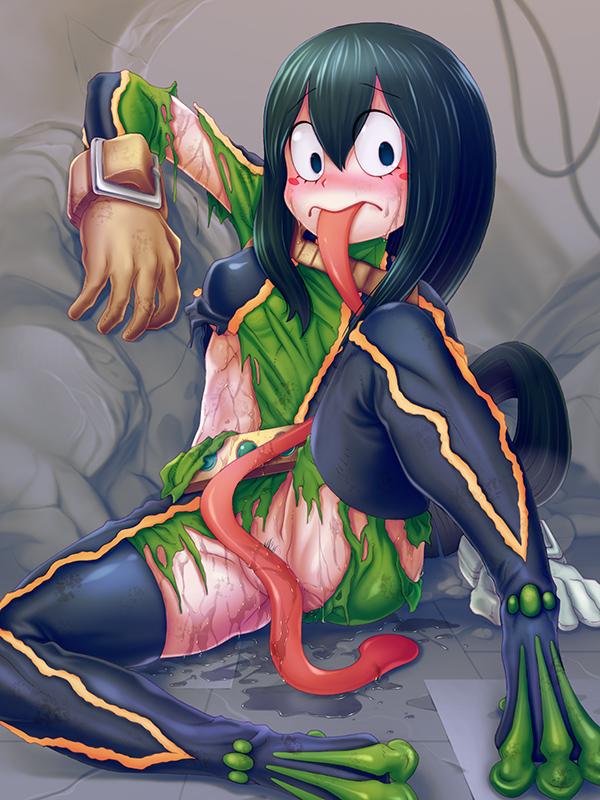 my acadamia frog girl hero Gaz invader zim grown up