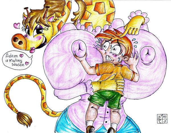 kerry partner's monkey gym my a Seven deadly sins elizabeth ass
