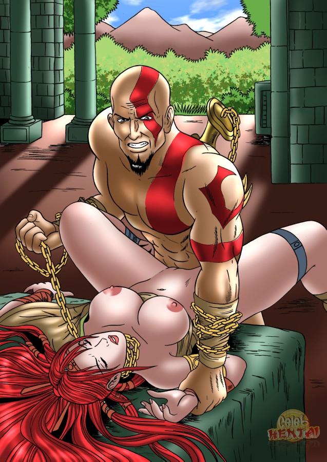 war of god princess poseidon's Yang xiao long red eyes