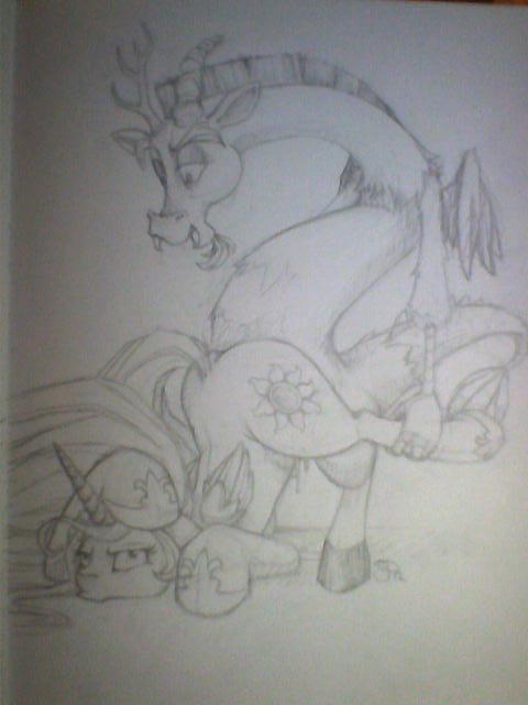 cranky little pony doodle my donkey Mlp phantom of the opera