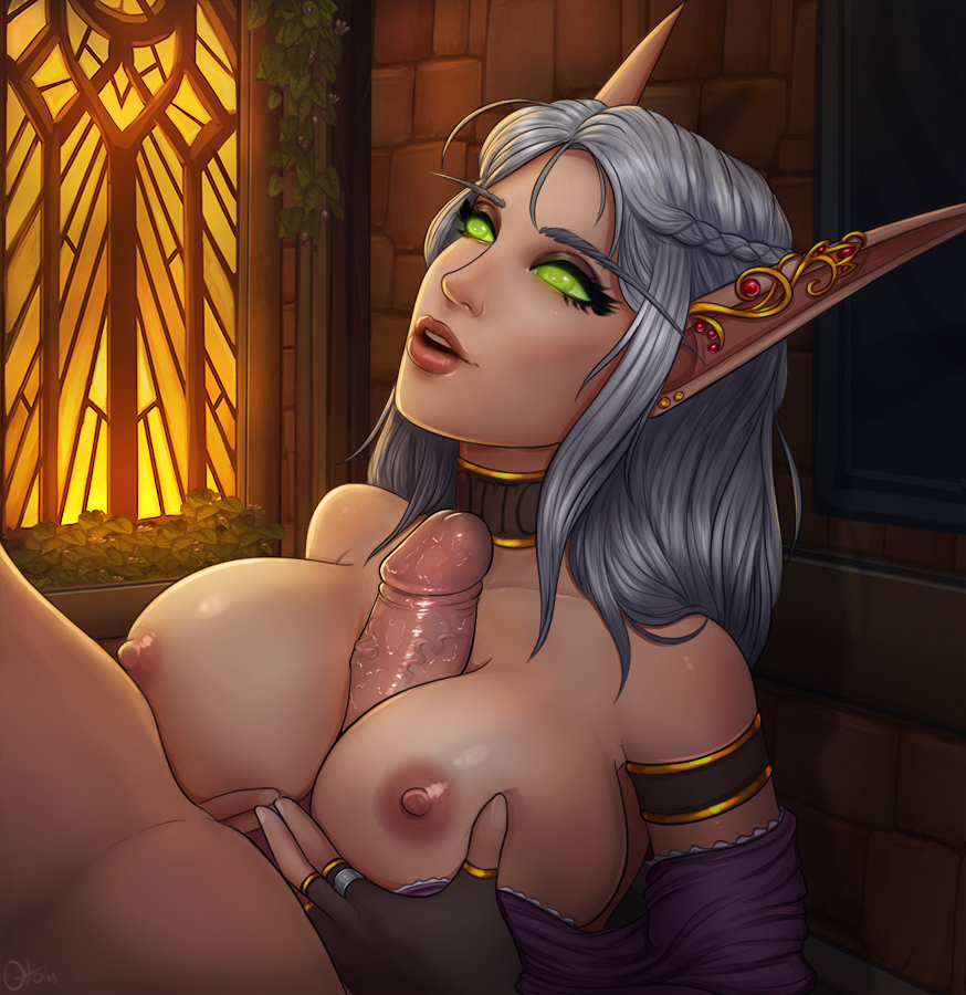 blood world of elf warcraft hentai The land before time red claw
