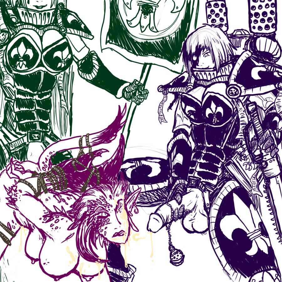 emperor of mankind warhammer 40k god Ren hana boyfriend to death