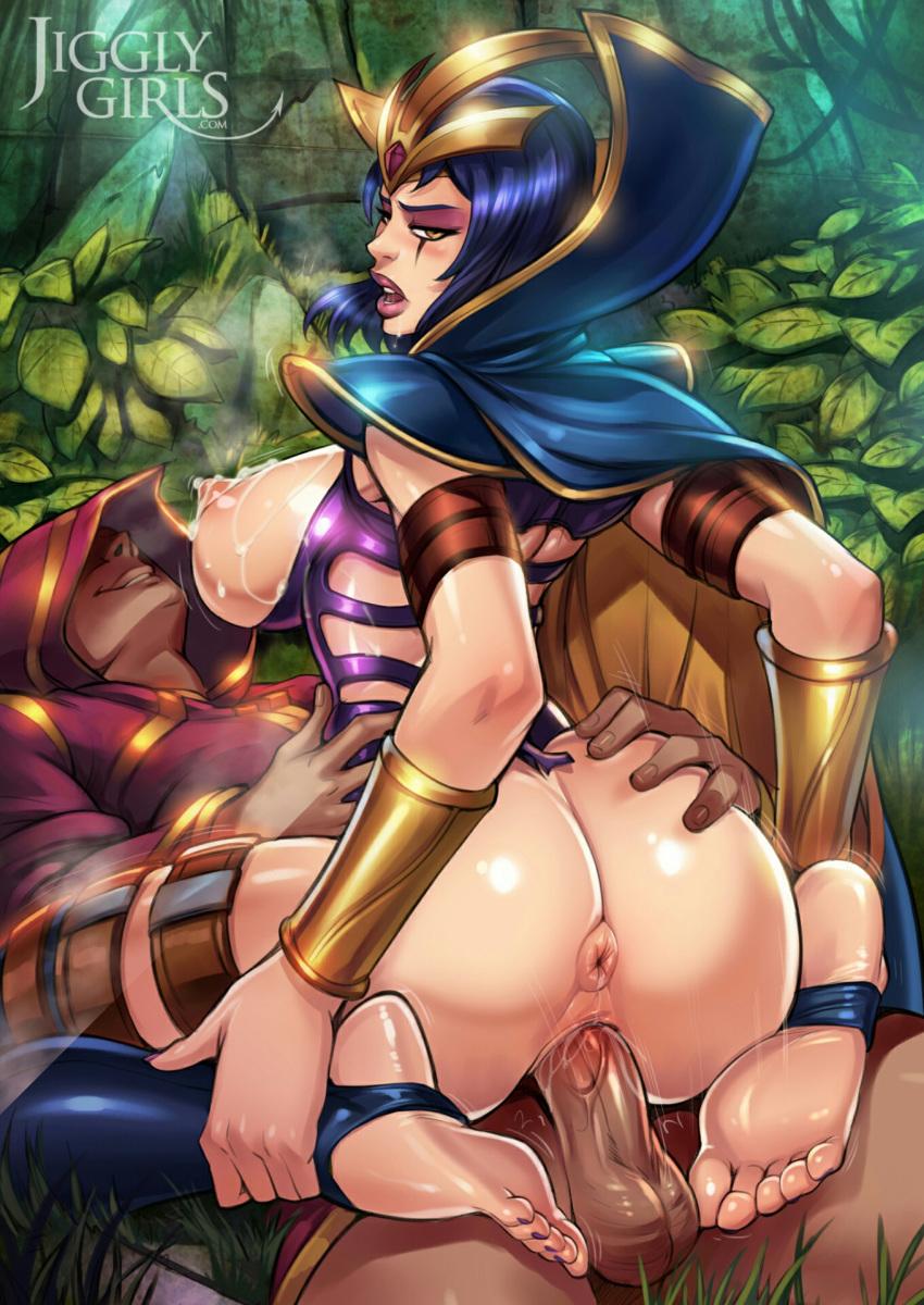 of league legends porn leblanc Robin and raven having sex