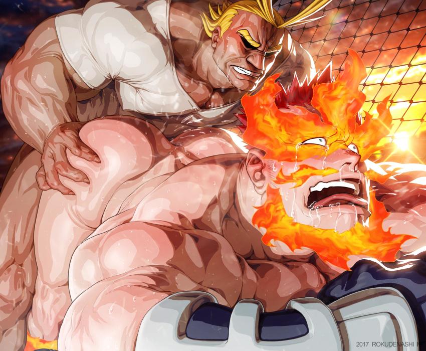 hero no academia boku muscular Mega pearl steven universe future