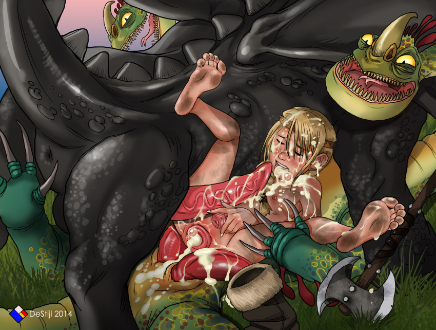to dragon hiccup and astrid pregnant fanfiction your how train Yu-gi-oh naked