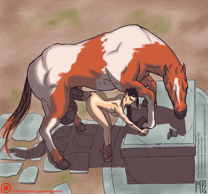 with horse croft 1 lara Ore ga kanojo wo *su wake