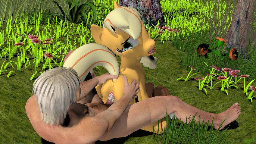 pony 3d runsammya my little Maou-sama retry!