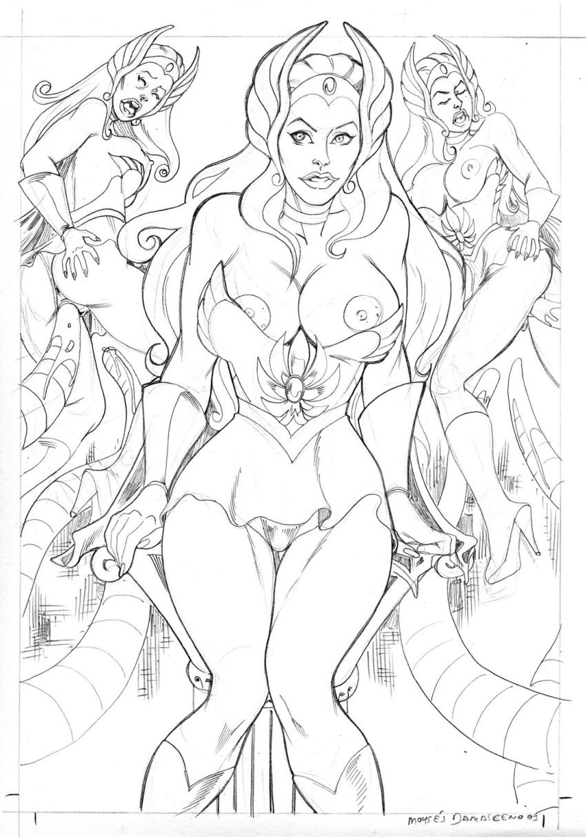seahawk she-ra captain Boy to girl transformation comic