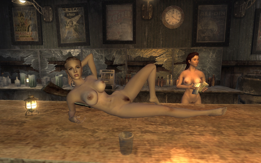 valentine fallout new vegas jill Trials in tainted space sneezing tits