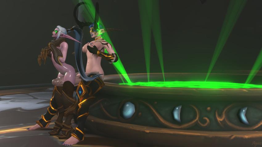 hunter elf metamorphosis blood demon Grisaia-no-rakuen