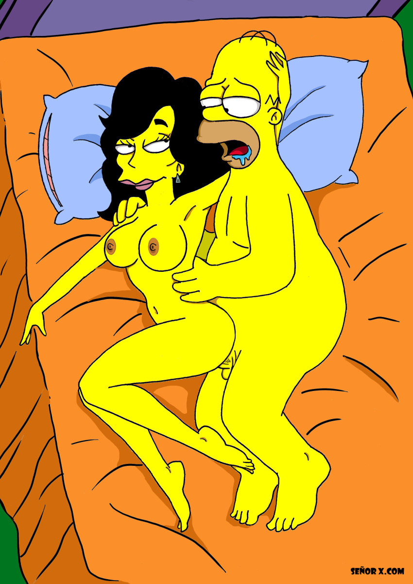 from the marge naked simpsons Natalie mars and sue lighting