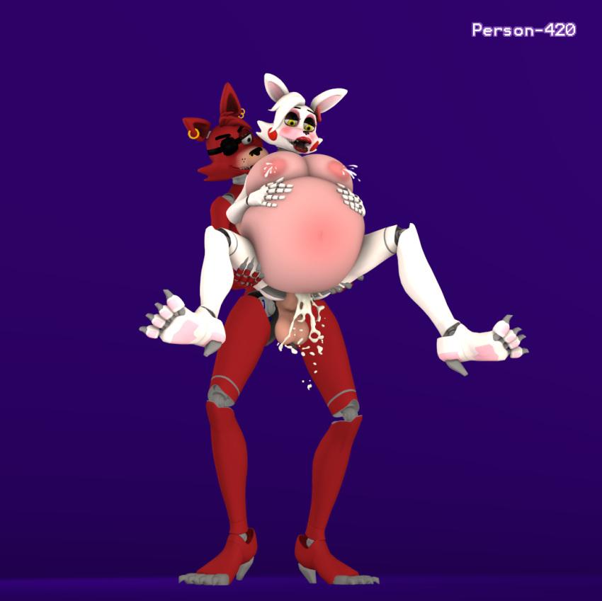 nights five foxy mangle and at freddy's Nier automata devola and popola