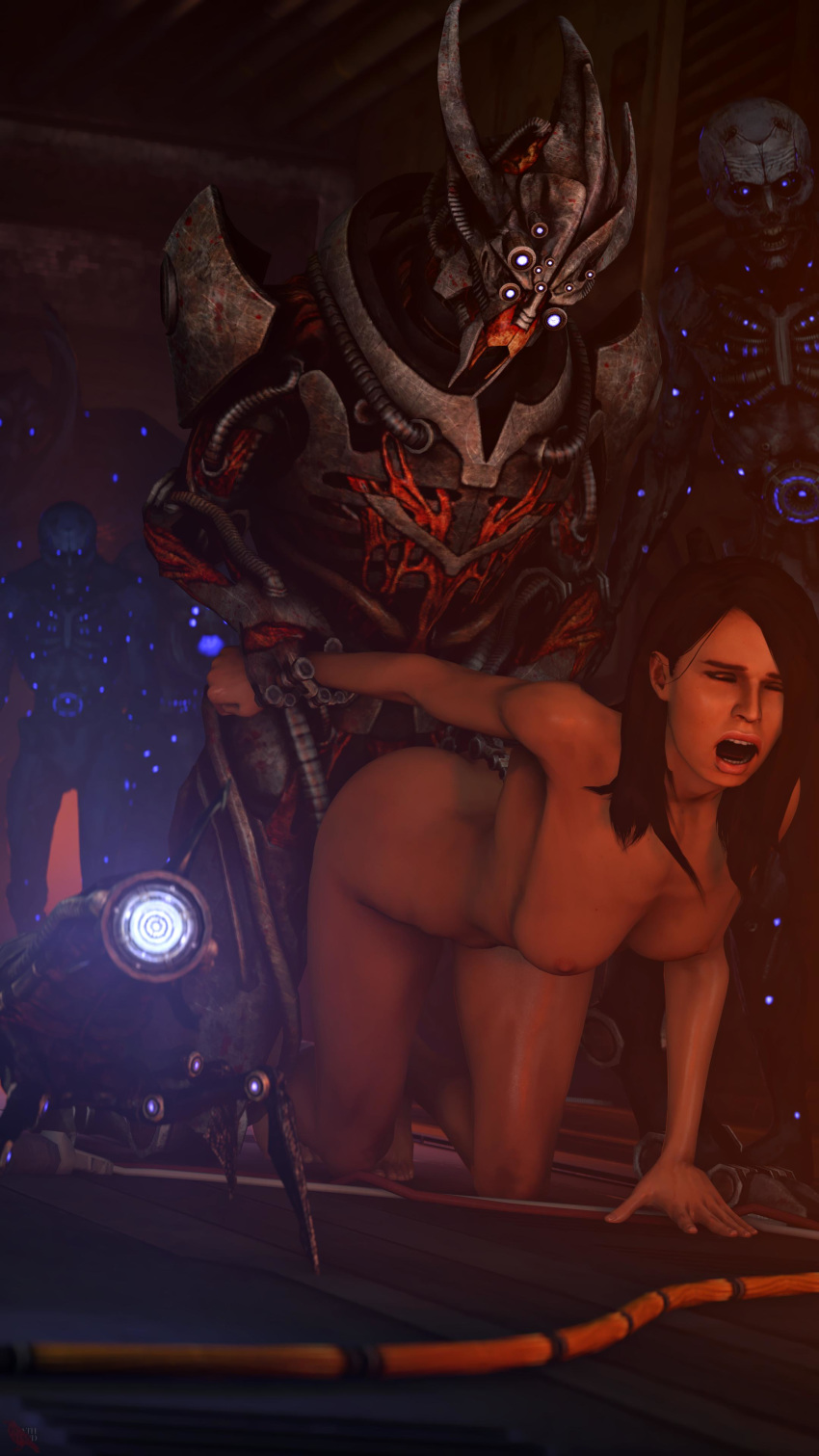 soni mass liara effect t Panty and stocking with garterbelt demons