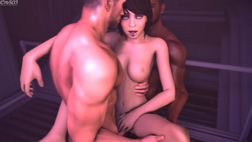 shepard effect female mass 1 asian Lady in black demon's souls