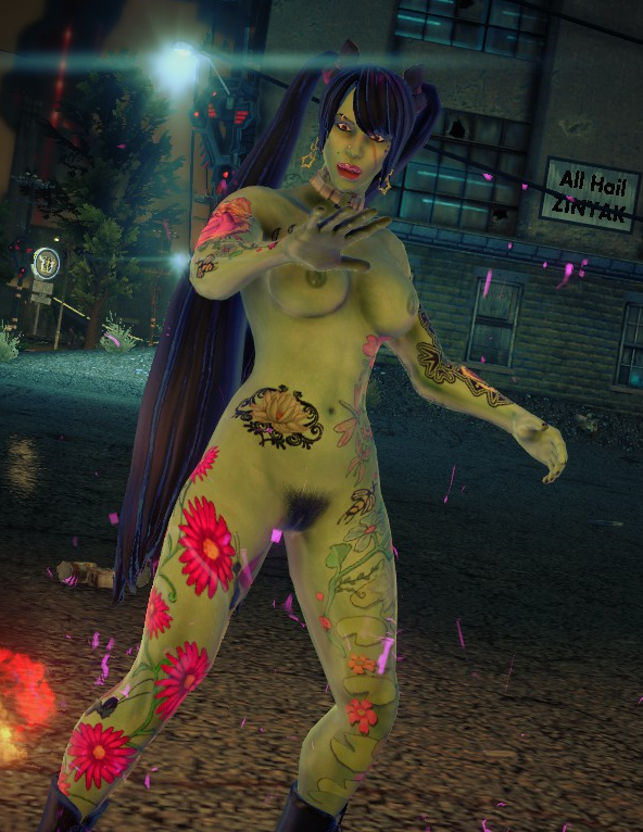 saints kinzie row Is this a zombie yuu