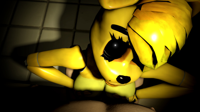 chica five freddy at nights Hat in time dancing gif